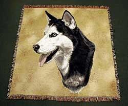 Siberian Husky Blanket