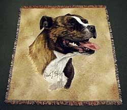 Staffordshire Bull Terrier Blanket