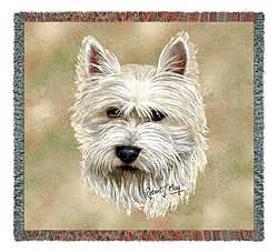 West Highland Terrier Blanket