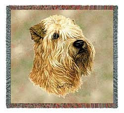 Wheaten Terrier Blanket