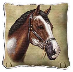 Paint Horse Pillow