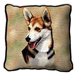 Corgi Cardigan Pillow