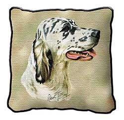 English Setter Pillow