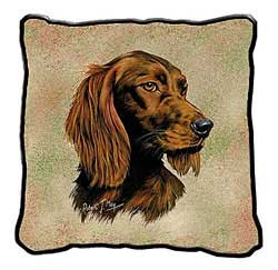 Irish Setter Pillow