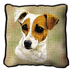 Jack Russell Terrier Pillow