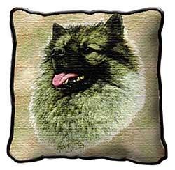 Keeshond Pillow