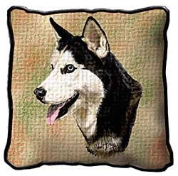 Siberian Husky Pillow