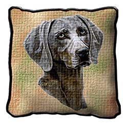 Weimaraner Pillow