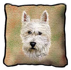 West Highland Terrier Pillow
