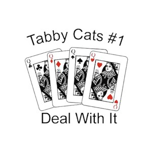Tabby Cat T-Shirt - #1... Deal With It