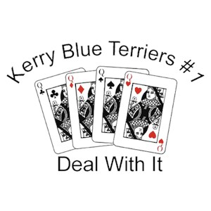 Kerry Blue Terrier T-Shirt - #1... Deal With It