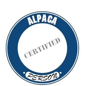 Alpaca T-Shirt - Certified Person