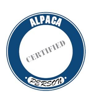 Alpaca T-Shirt - Certified Person