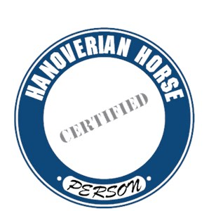 Hanoverian Horse T-Shirt - Certified Person