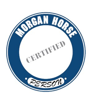Morgan Horse T-Shirt - Certified Person