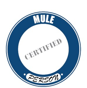 Mule T-Shirt - Certified Person