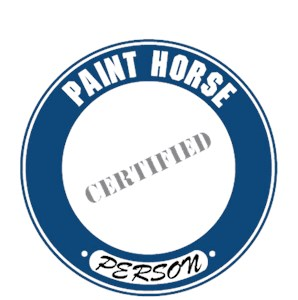 Paint Horse T-Shirt - Certified Person