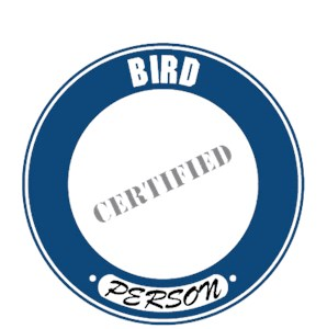 Bird T-Shirt - Certified Person
