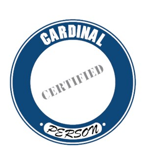 Cardinal T-Shirt - Certified Person