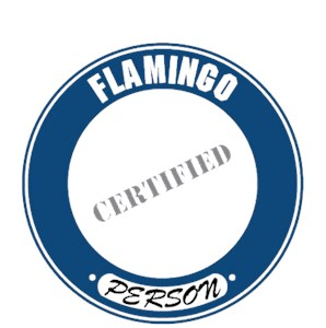 Flamingo T-Shirt - Certified Person