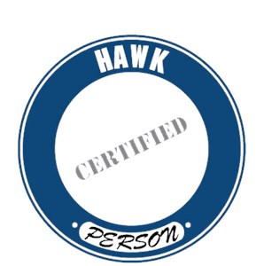 Hawk T-Shirt - Certified Person