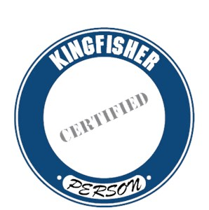 Kingfisher T-Shirt - Certified Person