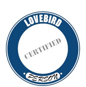 Lovebird T-Shirt - Certified Person