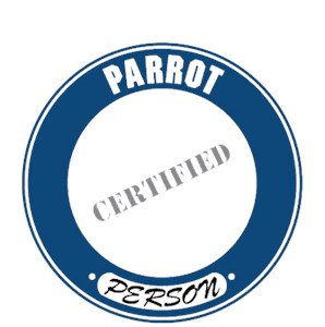 Parrot T-Shirt - Certified Person