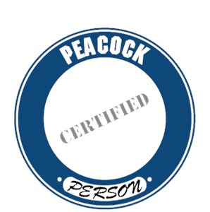 Peacock T-Shirt - Certified Person