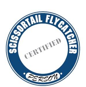 Scissor Tailed Flycatcher T-Shirt - Certified Person