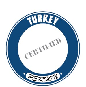 Turkey T-Shirt - Certified Person