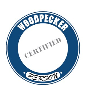 Woodpecker T-Shirt - Certified Person
