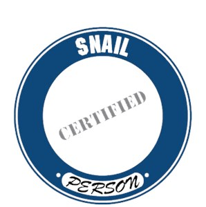 Snail T-Shirt - Certified Person