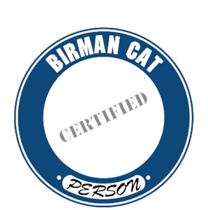 Birman Cat T-Shirt - Certified Person