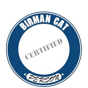 Birman Cat T-Shirt - Certified Person