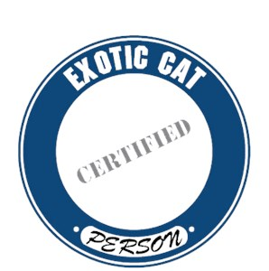 Exotic Cat T-Shirt - Certified Person
