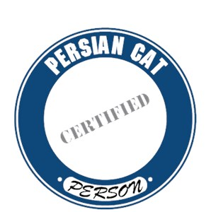 Persian Cat T-Shirt - Certified Person