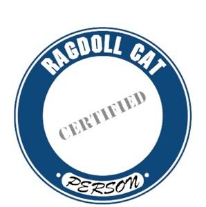 Ragdoll Cat T-Shirt - Certified Person