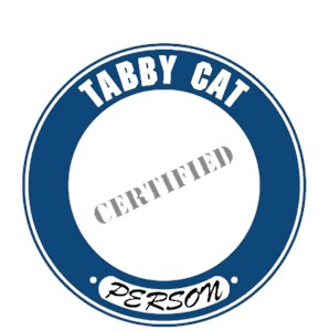 Tabby Cat T-Shirt - Certified Person