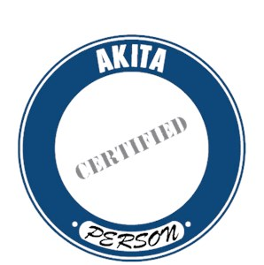 Akita T-Shirt - Certified Person