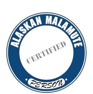 Alaskan Malamute T-Shirt - Certified Person