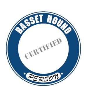 Basset Hound T-Shirt - Certified Person