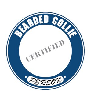 Bearded Collie T-Shirt - Certified Person