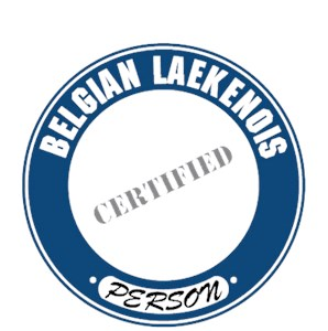 Belgian Laekenois T-Shirt - Certified Person
