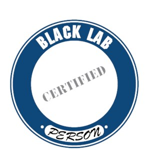 Black Lab T-Shirt - Certified Person