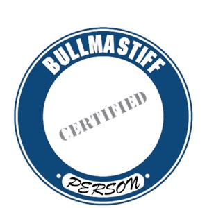 Bullmastiff T-Shirt - Certified Person