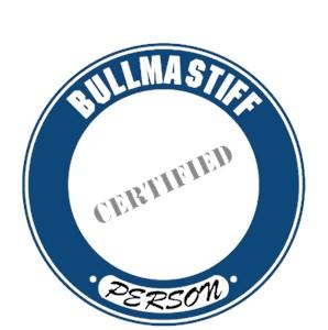 Bullmastiff T-Shirt - Certified Person
