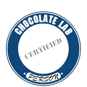 Chocolate Lab T-Shirt - Certified Person