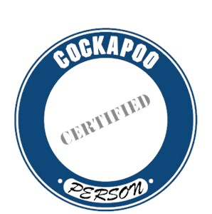 Cockapoo T-Shirt - Certified Person