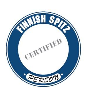 Finnish Spitz T-Shirt - Certified Person